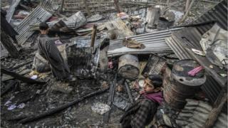 تباہ شدہ مکان