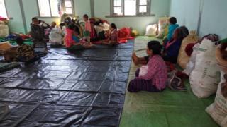 သီပေါနဲ့ နမ္မတူမြို့နယ်တွင်းစစ်ဘေးကြောင့်ပြောင်းရွှေ့လာရတဲ့ စစ်ဘေးဒုက္ခသည်များ