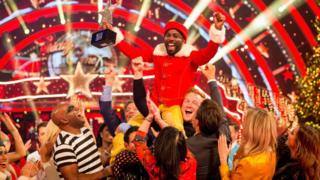 Radio DJ Melvin Odoom wins the Christmas special edition of Strictly Come Dancing