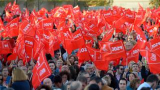 Соціалістична партія не отримувала абсолютної більшості з 2008 року