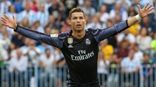 Cristiano Ronaldo celebra su último gol