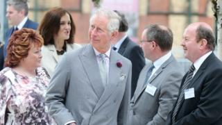 Prince Charles at Science Park