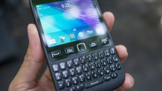 A BlackBerry 9720
