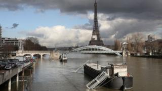 Повінь у Парижі