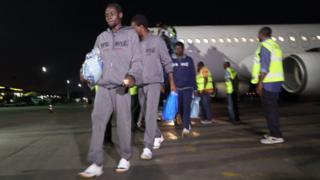 IOM say na like 44,000 Nigeria people no get where to put head for Libya