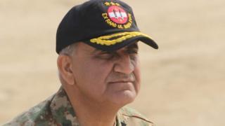 Pakistani Army General Qamar Javed Bajwa in Bahawalpur district, Nov 2016