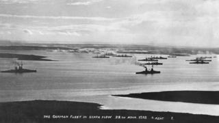 Flota Alemana en Scapa Flow