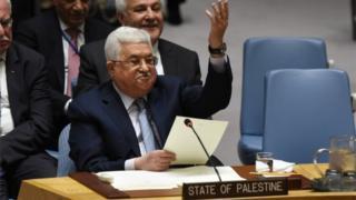 Mahmoud Abbas addresses the UN Security Council (20/02/18)