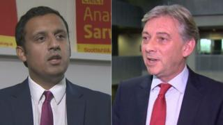 Anas Sarwar and Richard Leonard