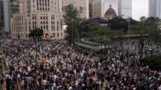 香港反送中示威活动