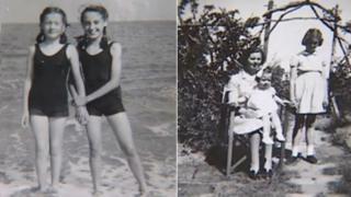 Photos from a wartime album