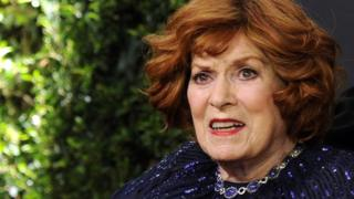 Actress Maureen O'Hara pictured in 2014