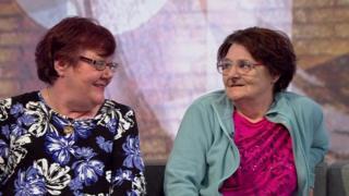 Elaine Walker and Jackie Green