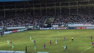 Adokiye Amiesimaka stadium dey contain 30,000 pipo to watch match