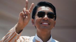 Perezida Rajoelina wa Madagascar