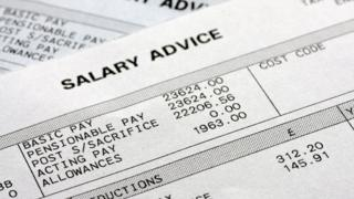 Salary advice slips