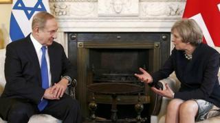 Нетаньяху и Мэй