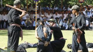 Cambodians mark the National Day of Remembrance, known as the Day of Anger