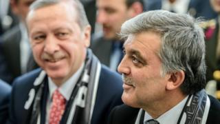 Recep Tayyip Erdoğan ve Abdullah Gül