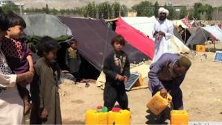 افغانستان کې وچکالي