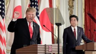 Trump ve Abe