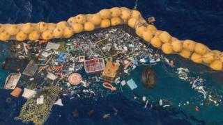 Ocean Cleanup: перший успіх в океані