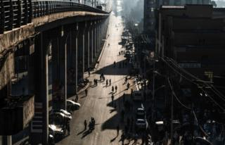 Addis Ababa on 3 February, the city's third Car Free Day