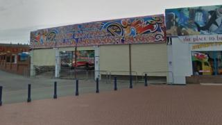 Part of Barry Island funfair