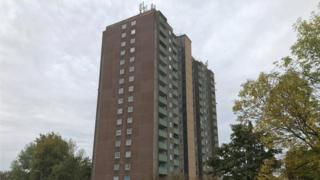 Mellish Court in Bletchley