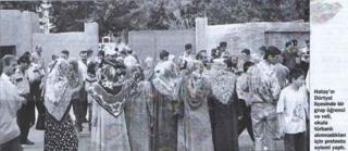 Hatay'da protesto