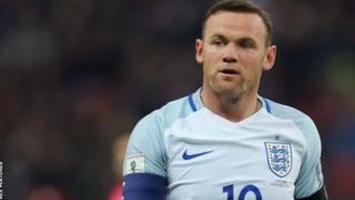 Rooney yari kizigenza mu rukino rw'igikombe c'isi Ubwongereza bwatsinzemwo Scotland