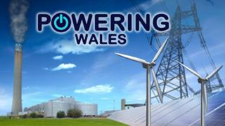 Powering Wales graphic