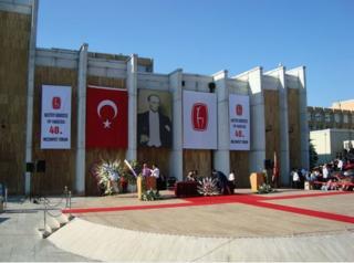 Hacettepe Üniversitesi'nin mezuniyet töreninden