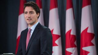 Canadian PM Justin Trudeau issues an apology to LGBT people who were discriminated against by the Canadian government