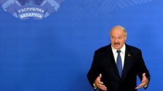 President Alexander Lukashenko in Minsk (11 )October 2015)