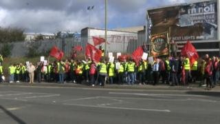 Oxford Bus drivers strike