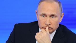 روسی صدر ولادی میر پوتن