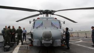 अमेरिकी नौसेना की सर्विस में MH-60R