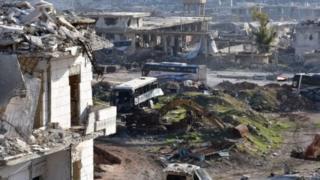 Halep'ten tahliye