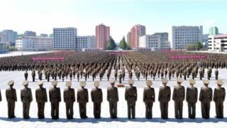 最近,朝鮮不斷舉行反美集會。