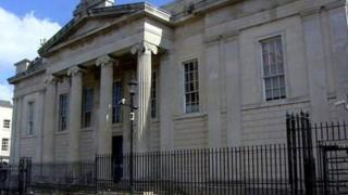 The Courthouse at Bishop Street in Derry