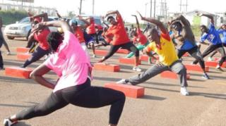 องค์การอนามัยโลกระบุว่า ยูกันดาเป็นประเทศที่ผู้คนออกกำลังกายกันมากที่สุด