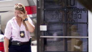 полицейский на месте происшествия, Орландо