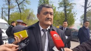 Бишкек шаҳри ҳокими Албек Ибраимов