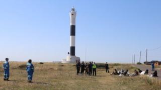 sports Migrants in Dungeness