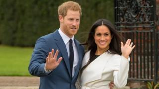5월 결혼을 앞둔 해리 왕자와 메건 마클