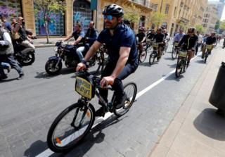 Премьер Ливана также принял участие в велозаезде в Бейруте
