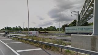 A14 Girton interchange