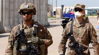 Иракта кызмат кылган АКШнын эки жоокери