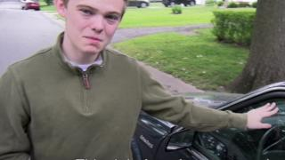 Tyler and his car